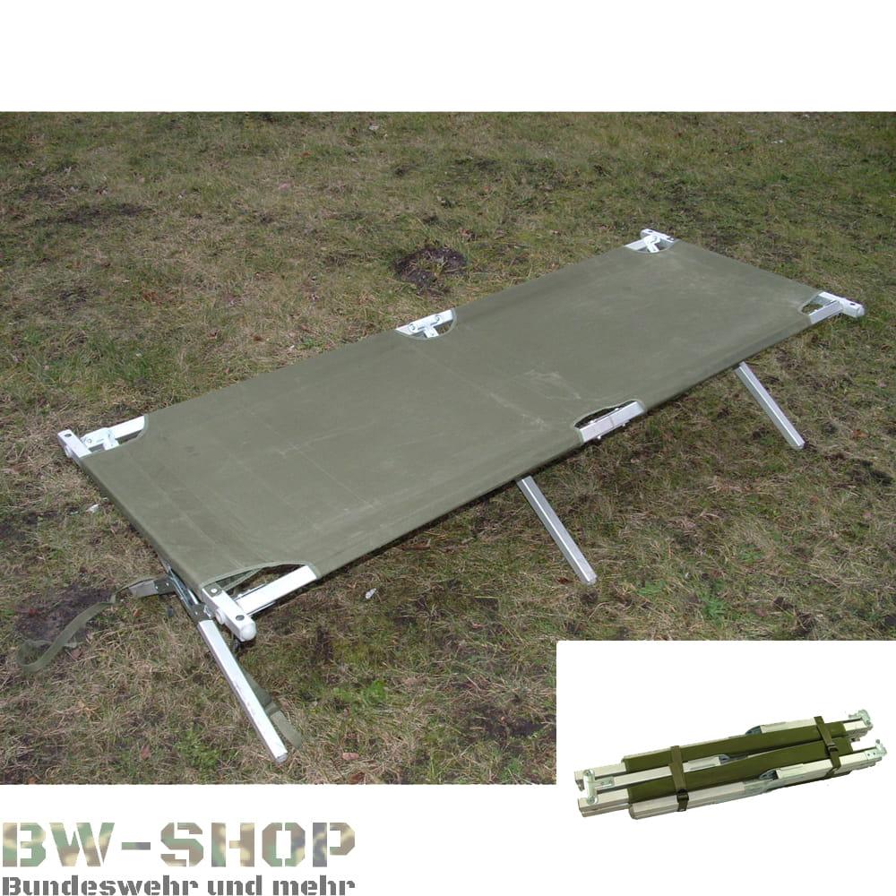 Original US Army Feldbett oliv klappbar bis 150Kg