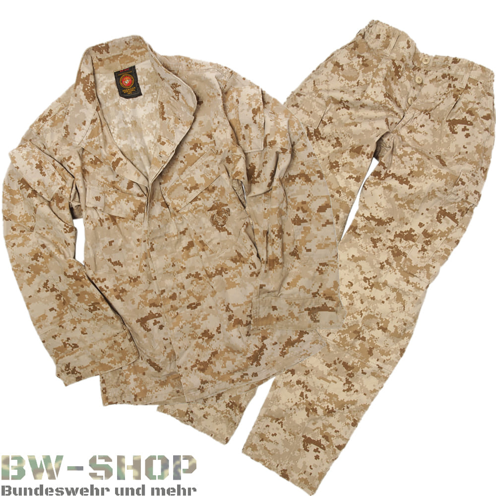 Original US Army Marine Corps Hose / Jacke Digital Tarn Desert