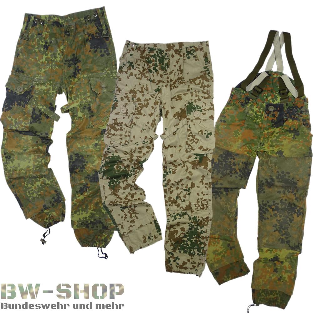 Original Bundeswehr KSK Hose Bw Einsatzhose Flecktarn & Wüstentarn