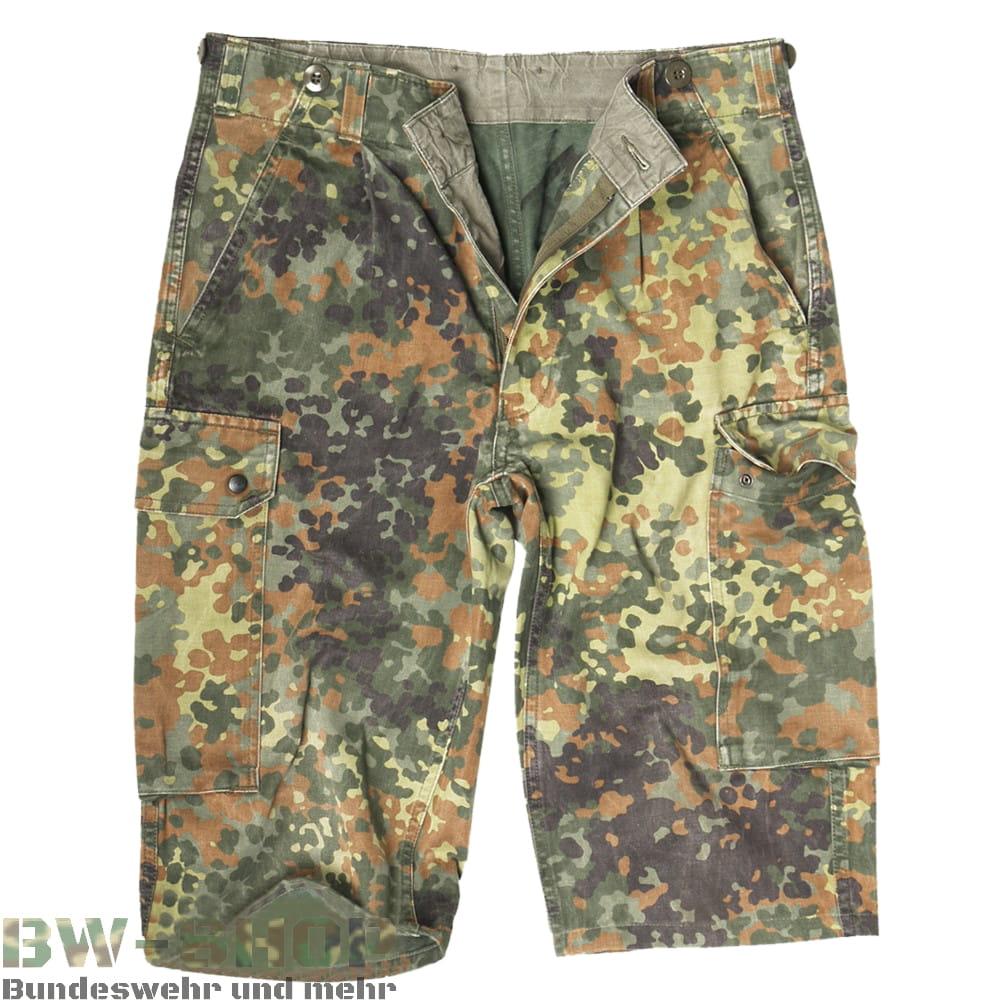 Original Bundeswehr Bermuda Shorts Flecktarn