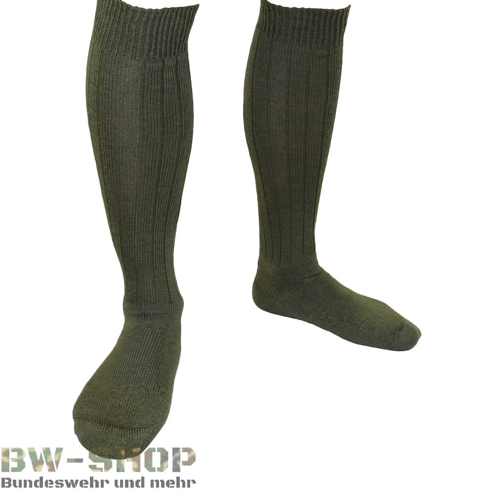 1-10er Pack Original Bundeswehr Socken Oliv