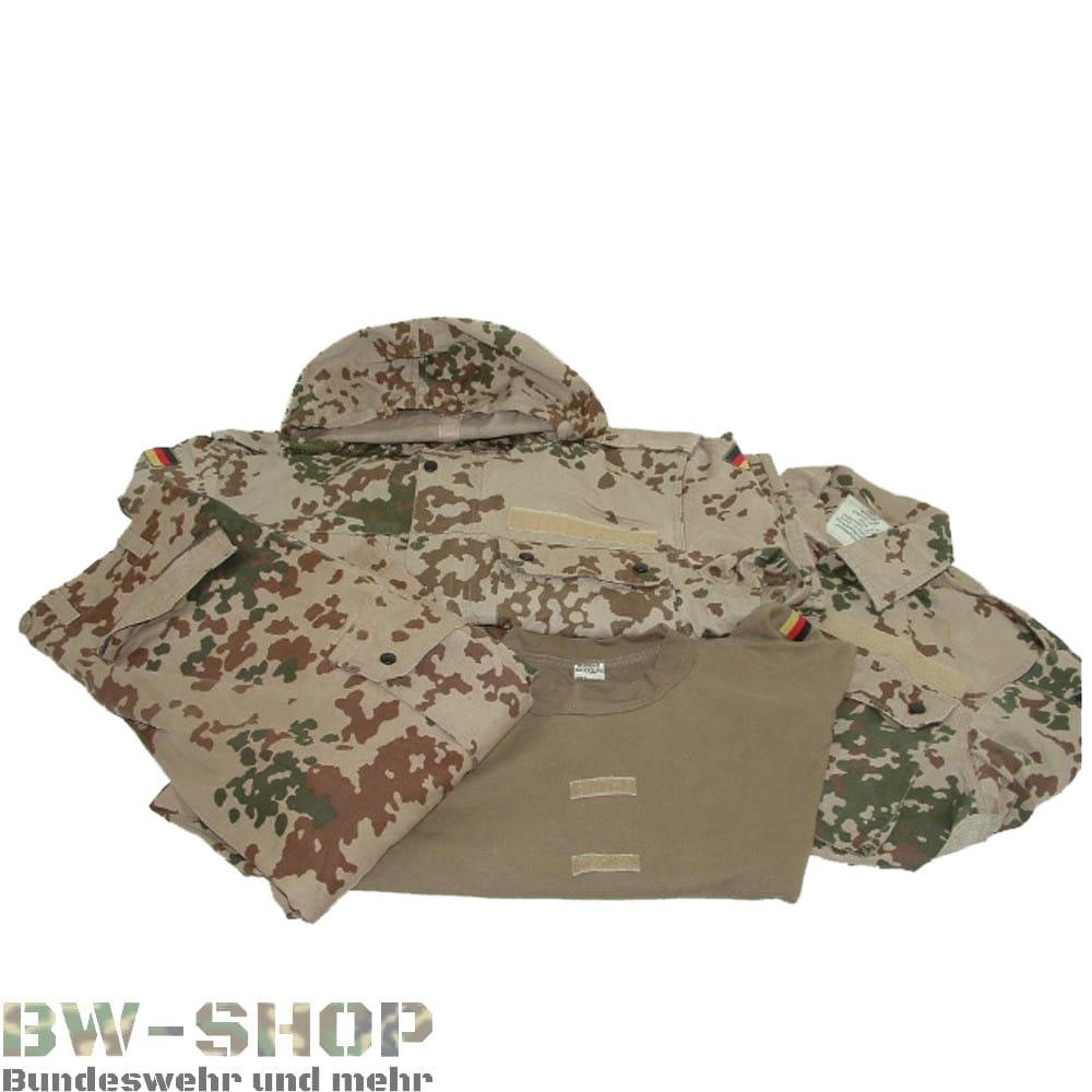 Original Bundeswehr Set Hose + Jacke + T-Shirt ( + Parka ) Wüstentarn Bw
