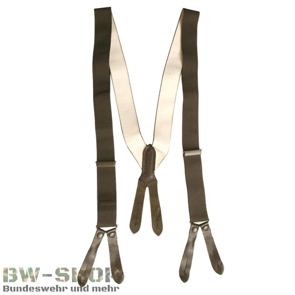 Original Bundeswehr Hosenträger oliv Bw