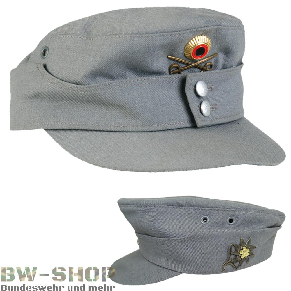 Original Bundeswehr Bergmütze grau Bw Mütze