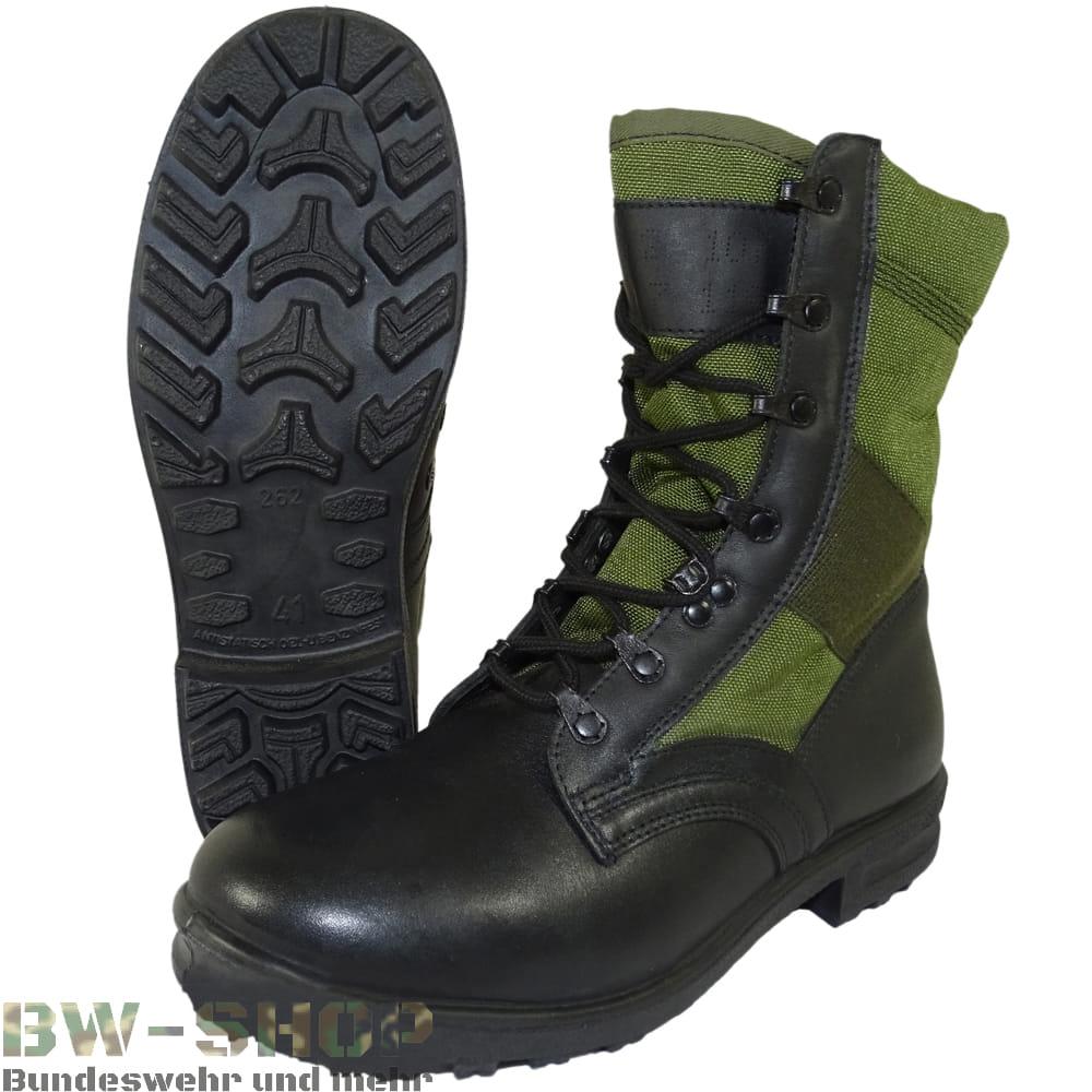 Original Bundeswehr Baltes Tropenstiefel Bw Stiefel