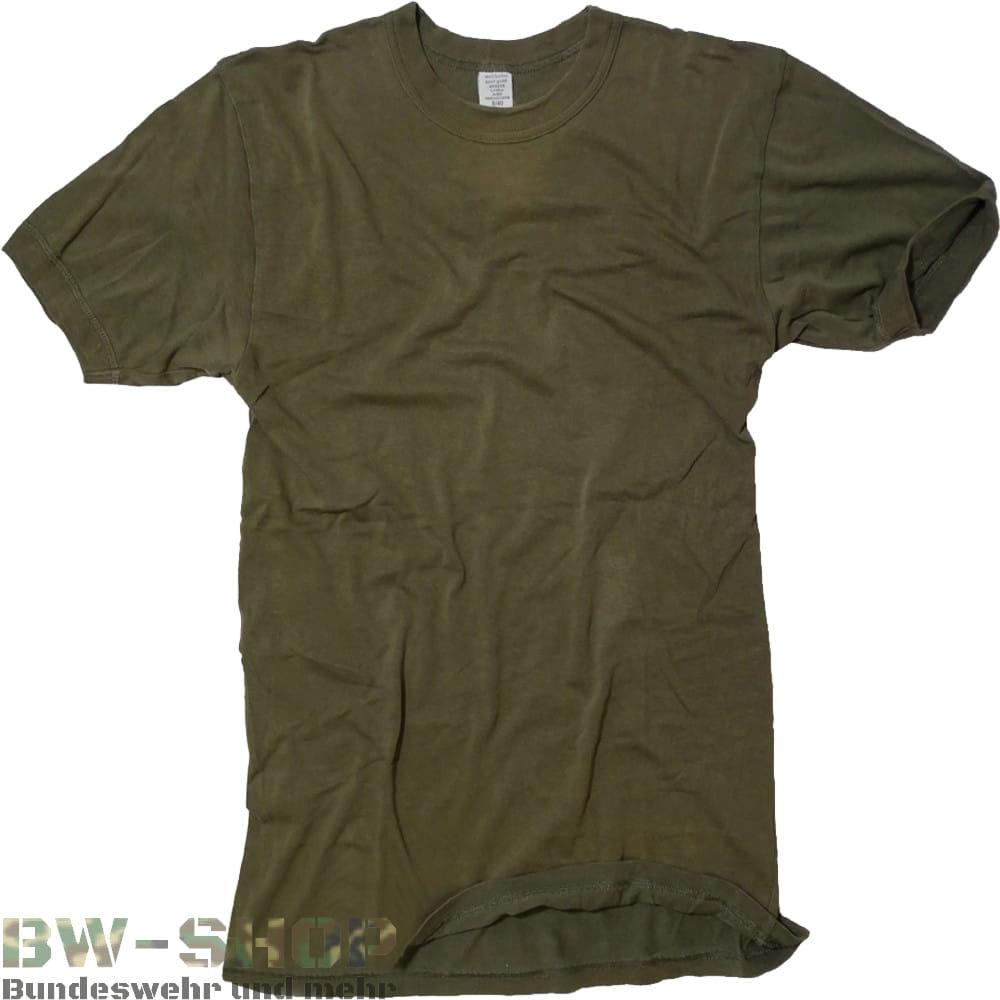 1-5er Pack Original Bundeswehr T-Shirt Oliv