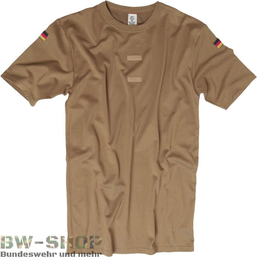 1-3er Pack Original Bundeswehr T-Shirt Tropen