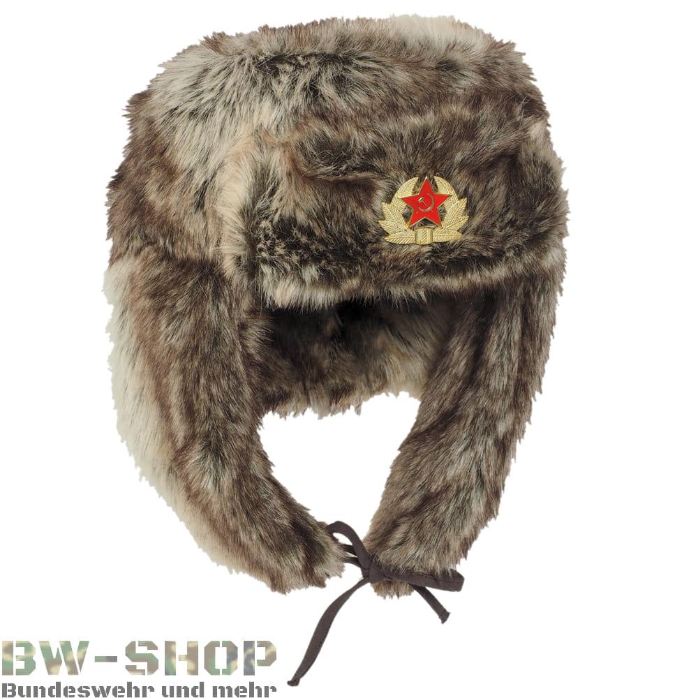 Russische Wintermütze Shapka