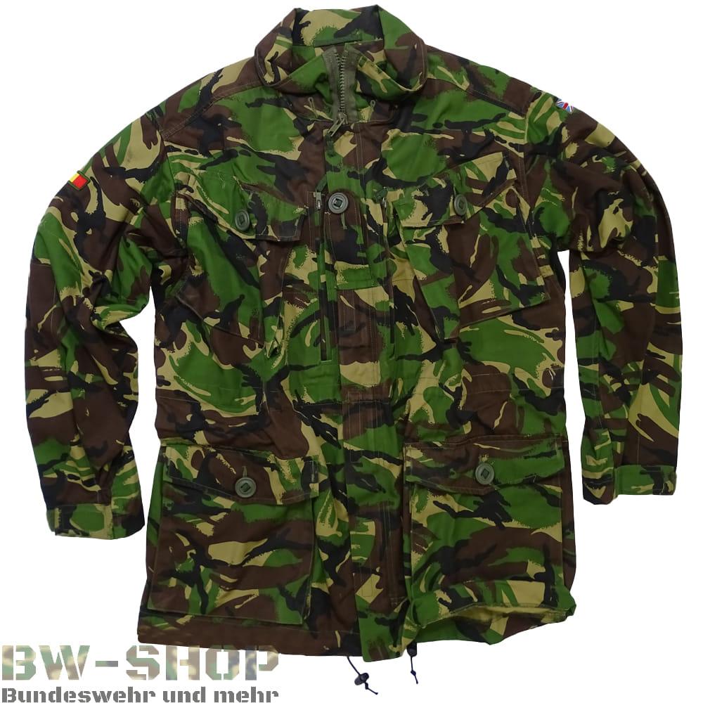 Original Britische Armee Jacke DPM-Tarn Field Jacket