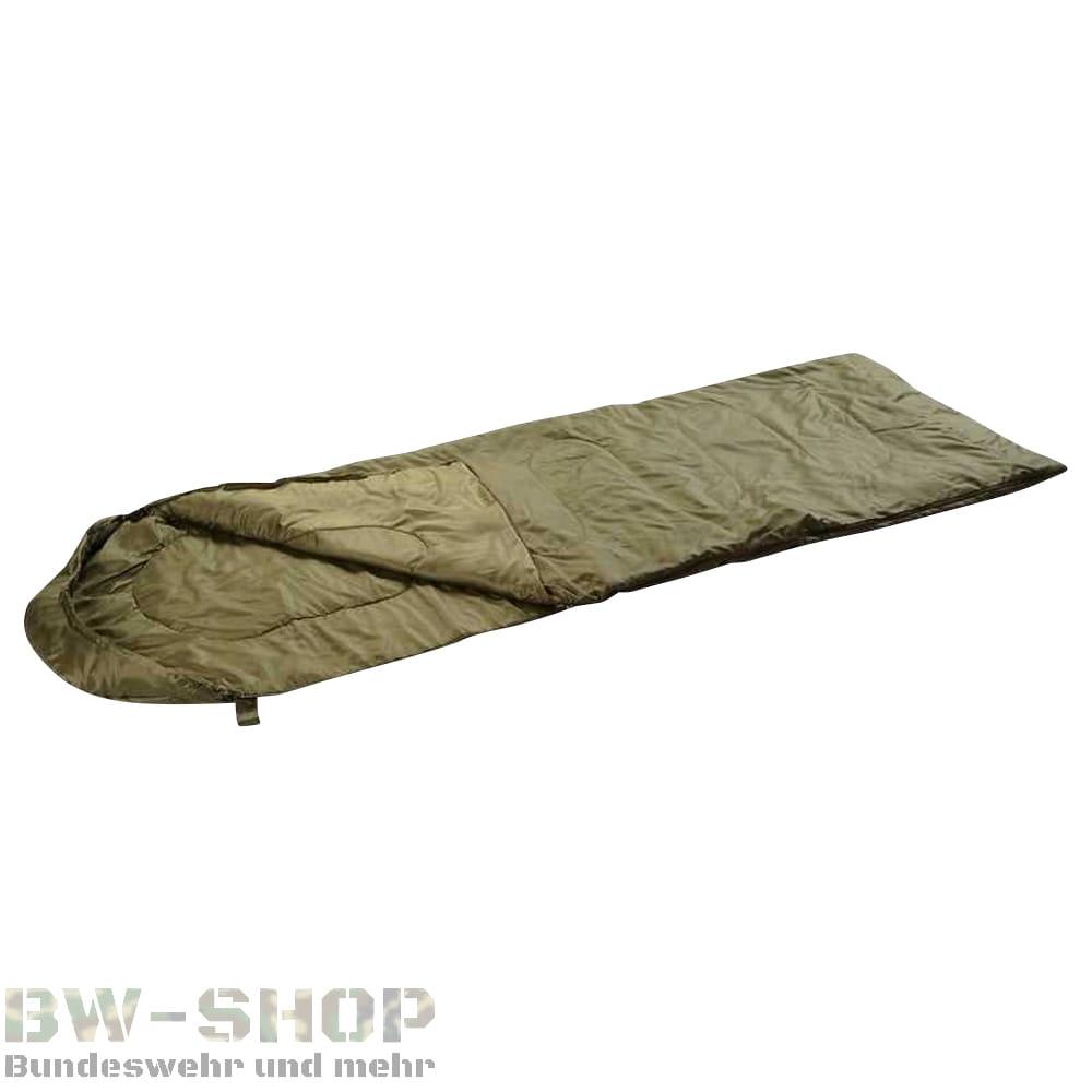 Steppdeckenschlafsack 200gr Oliv