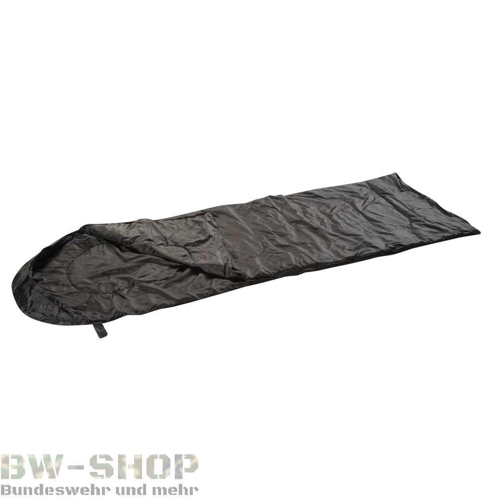 Steppdeckenschlafsack 200gr Schwarz