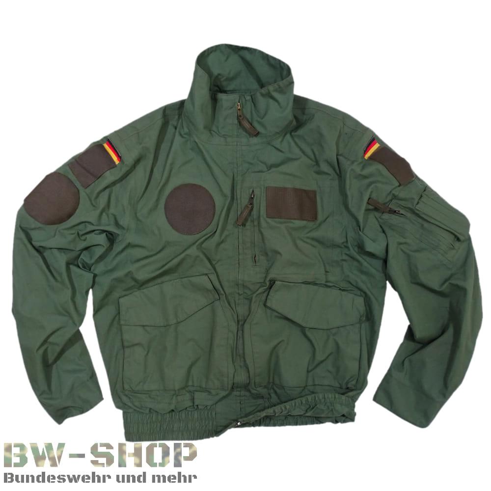 Original Bundeswehr Fliegerjacke Aramid grün