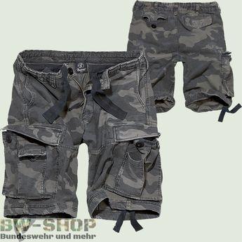 Brandit Shorts Vintage Classic darkcamo Neu kurze Hose Bermuda