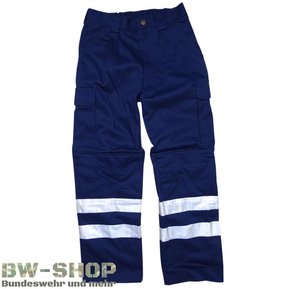 Rettungsdiensthose Marine Sanitäter Hose blau