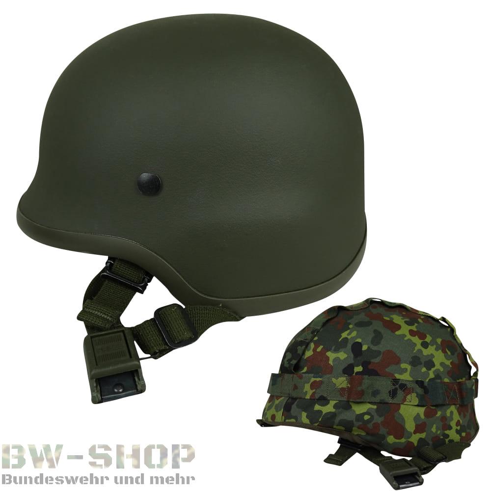 Original Bundeswehr Gefechtshelm Kevlar M92 Bw Helm