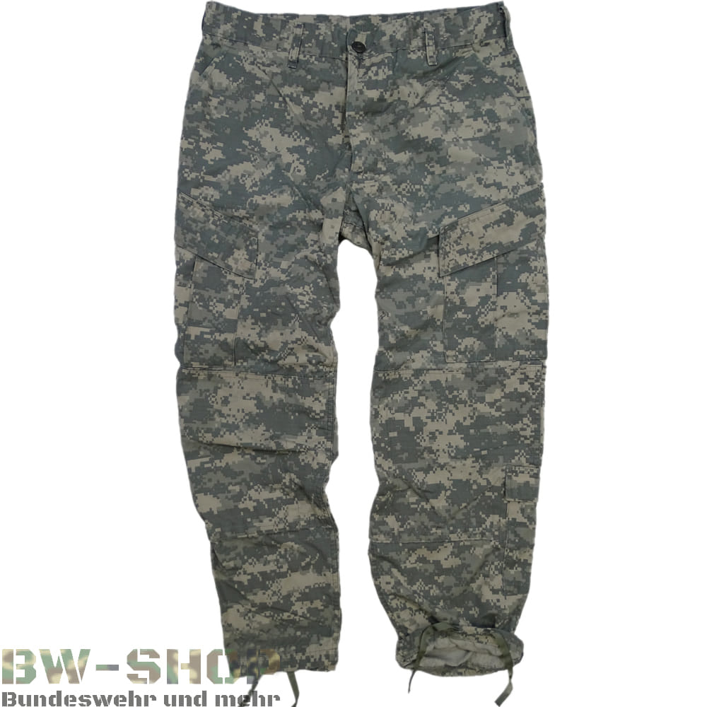 Original US Army Feldhose ACU AT-Digital Tarn Hose