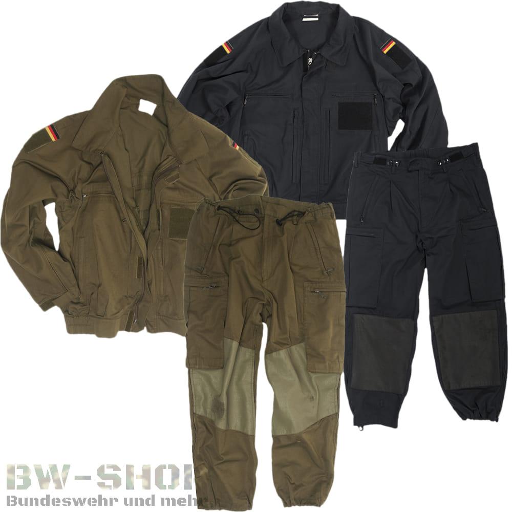 Original Bundeswehr Feldjäger Einsatzanzug Bw Set Jacke + Hose