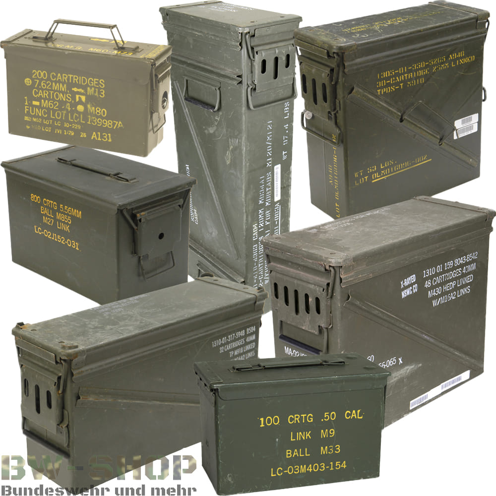 Original US Army Munitionskiste Ammo Box