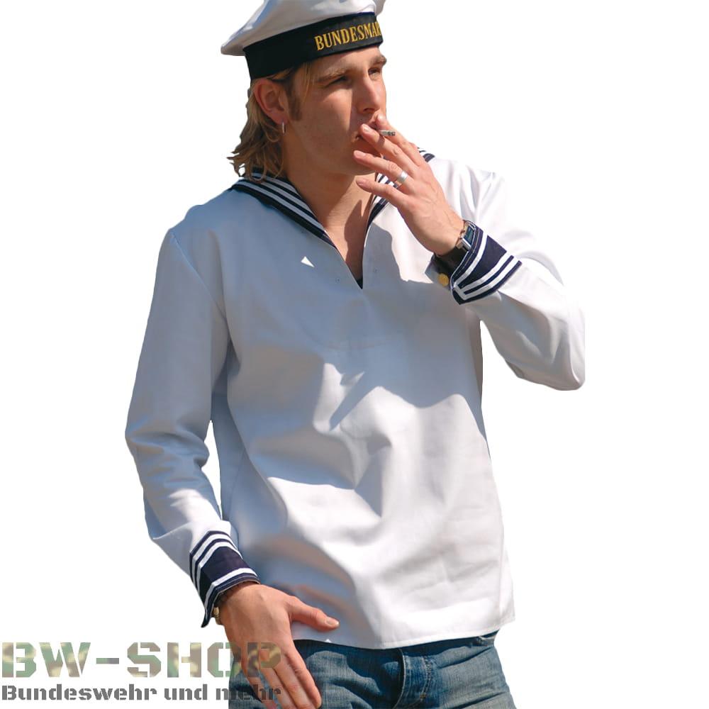 Original Bundeswehr Marine Bordhemd / Klapphose Bw Marinehemd Marinehose