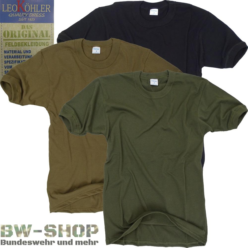 Original Bundeswehr T-Shirt Leo Köhler Bw Unterhemd Shirt