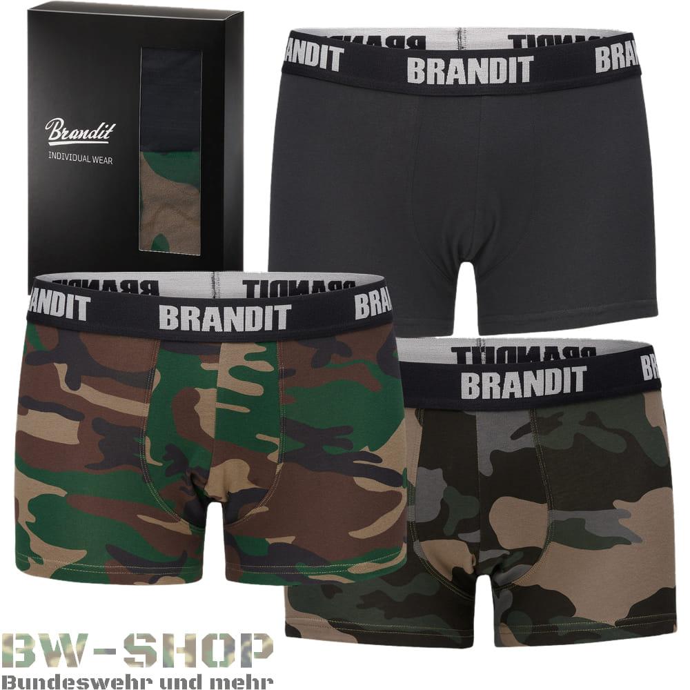 Brandit 2er Pack Army Boxershorts Retro