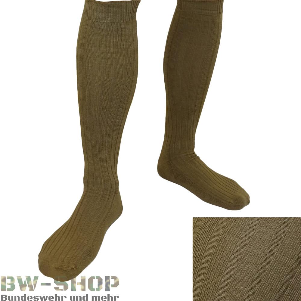 1-10er Pack Original Bundeswehr Socken Tropen / Khaki