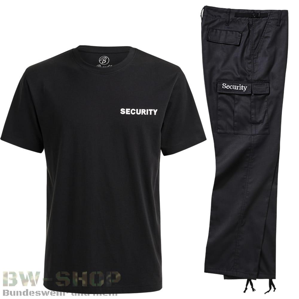 Brandit Security Bekleidung mit Aufschrift