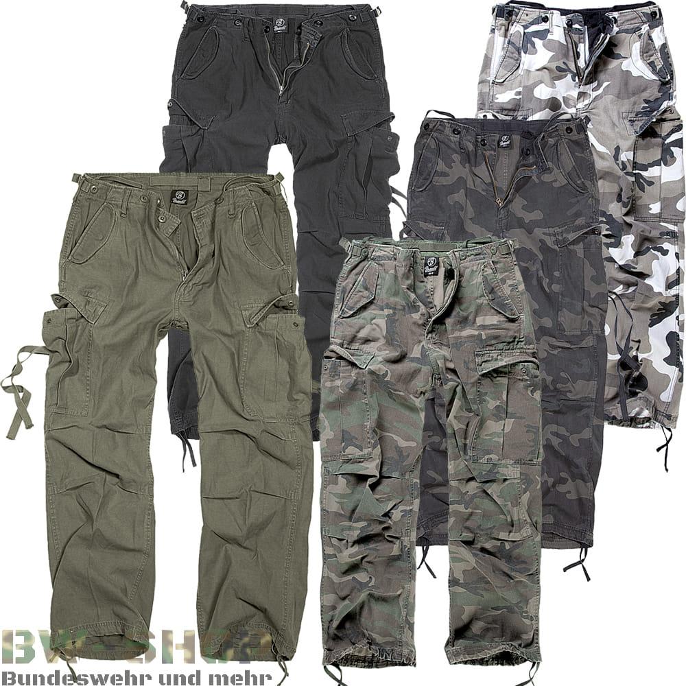 Brandit M65 Feldhose Vintage Trouser *2.Wahl*
