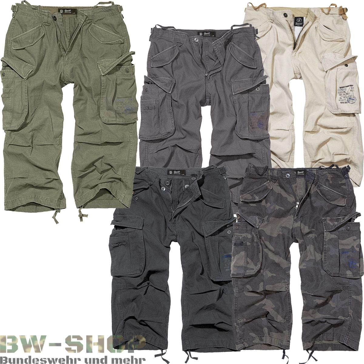 Brandit Industry 3/4 Shorts *2.Wahl*