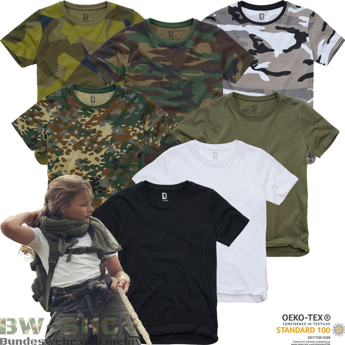 Brandit Army T-Shirt Kinder