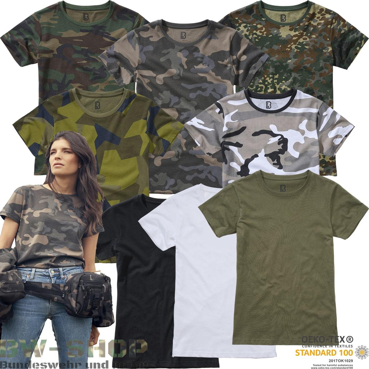 Brandit Army T-Shirt Damen