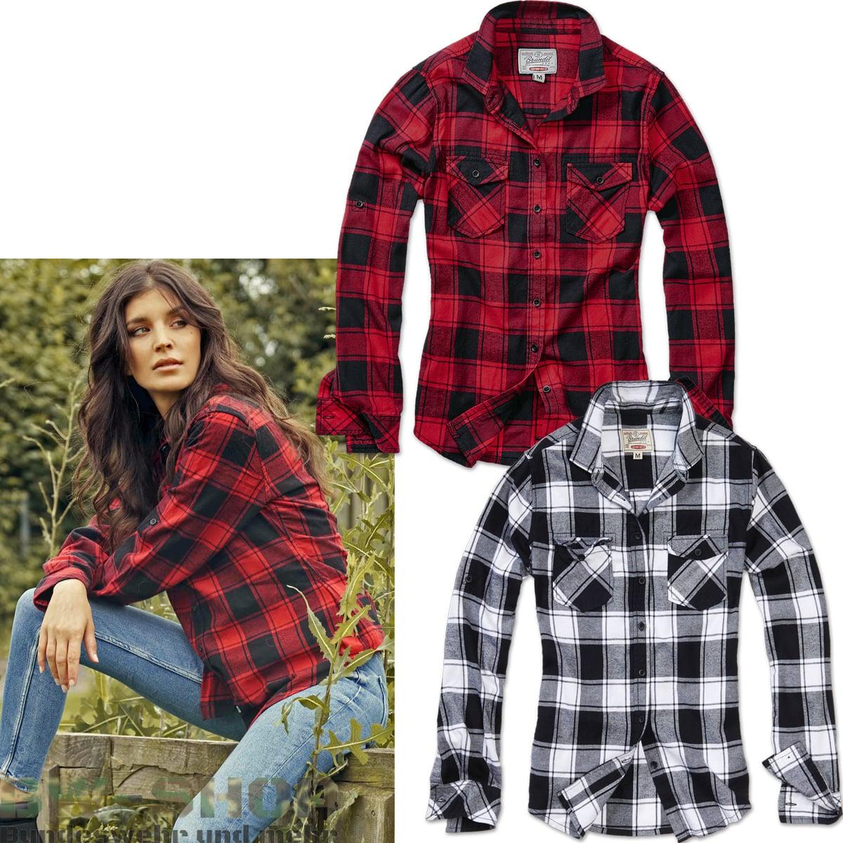 Brandit Amy Check Shirt Damen