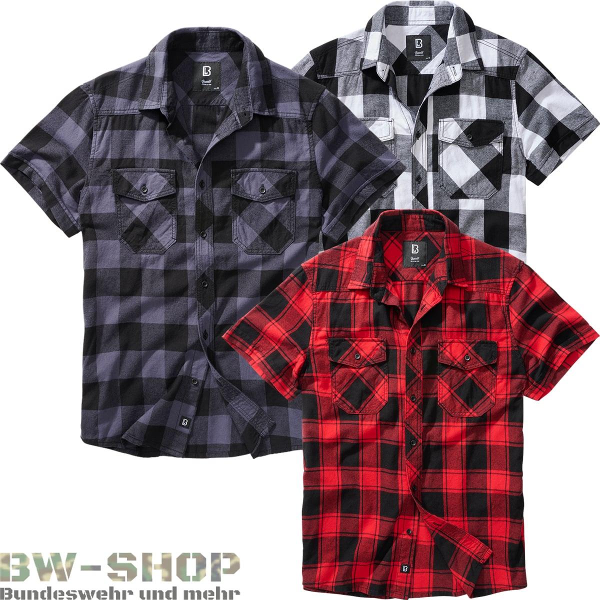 Brandit Check Shirt Herren Kurzarm